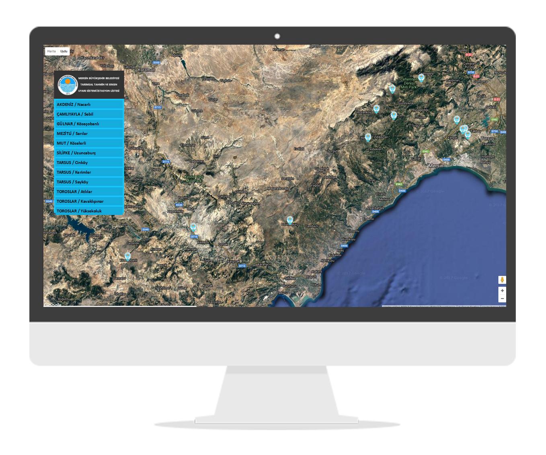 Harita Tabanlı Online Takip Sistemi