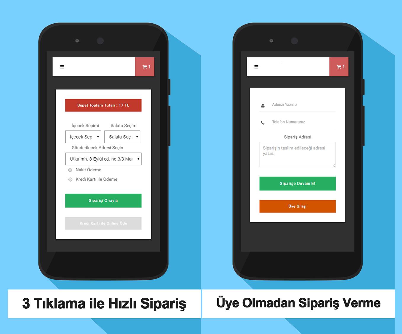 Mobil Sipariş Uygulaması