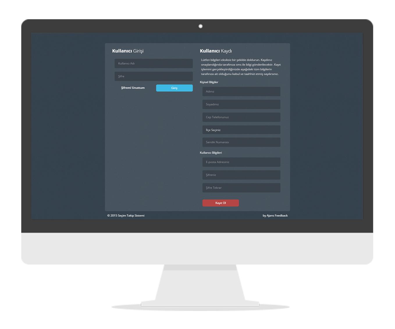 Online Seçim ve Sandık Takip Sistemi