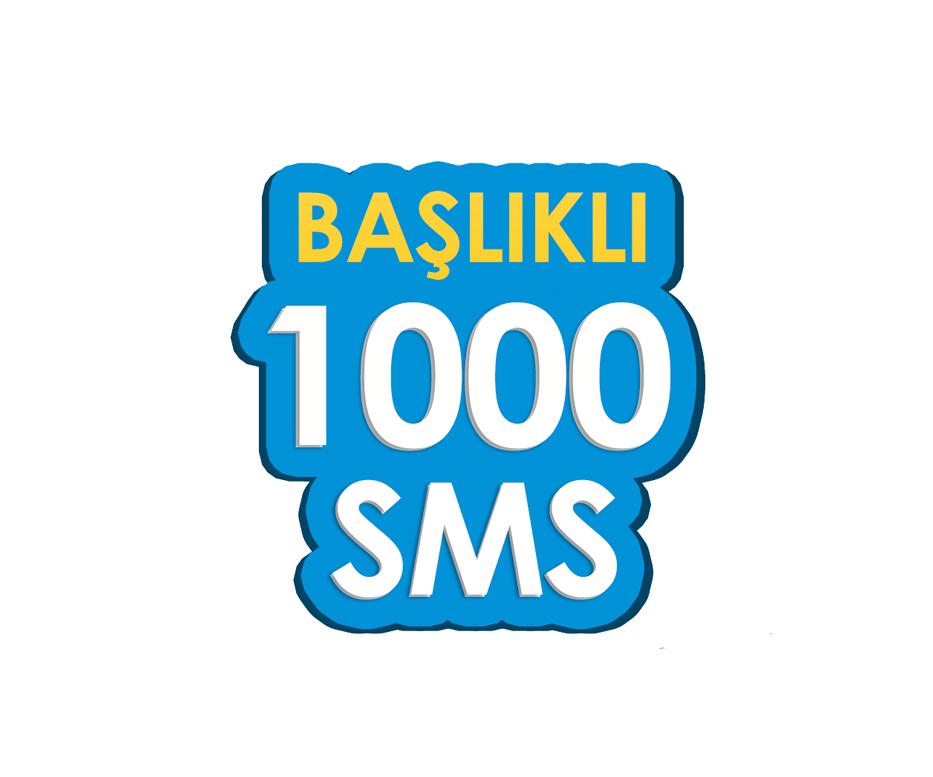 1.000 SMS - Toplu SMS Paketi