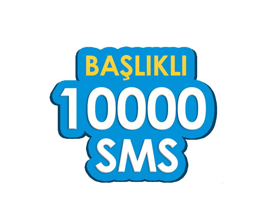 10.000 SMS - Toplu SMS Paketi
