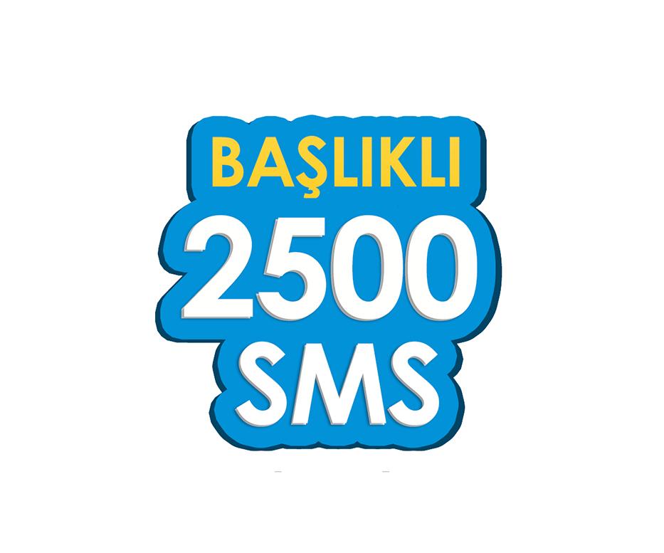 2.500 SMS - Toplu SMS Paketi
