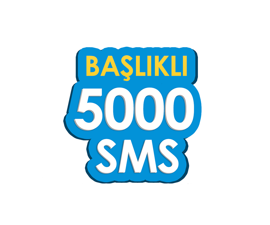 5.000 SMS - Toplu SMS Paketi