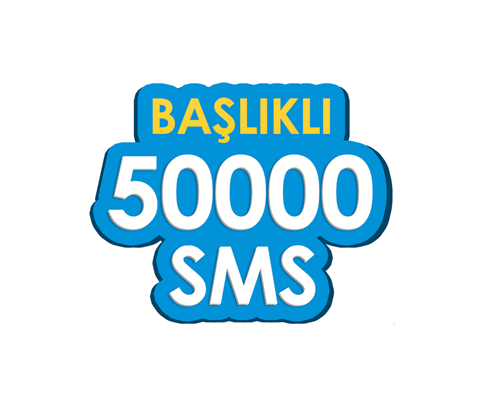50.000 SMS - Toplu SMS Paketi