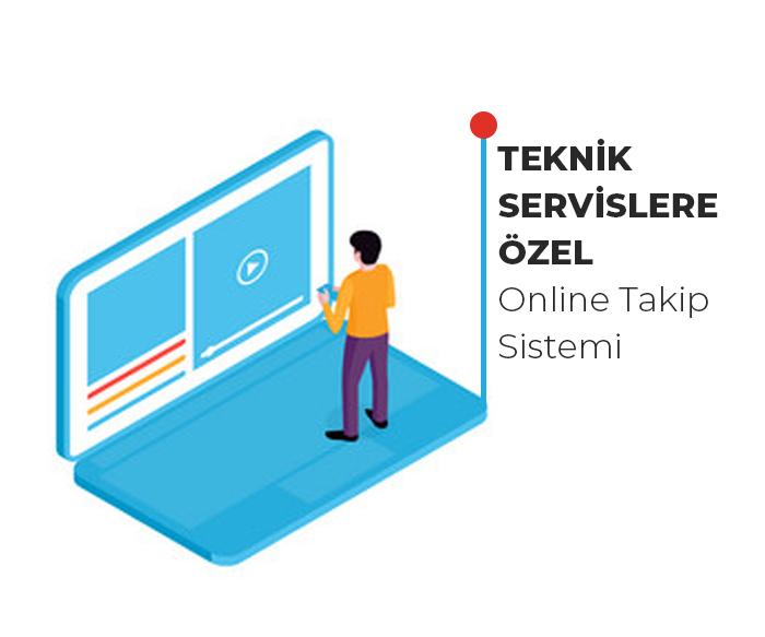 Online Teknik Servis Takip Programı