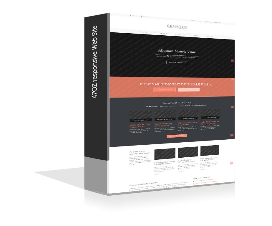 Paket Web Sitesi - creator