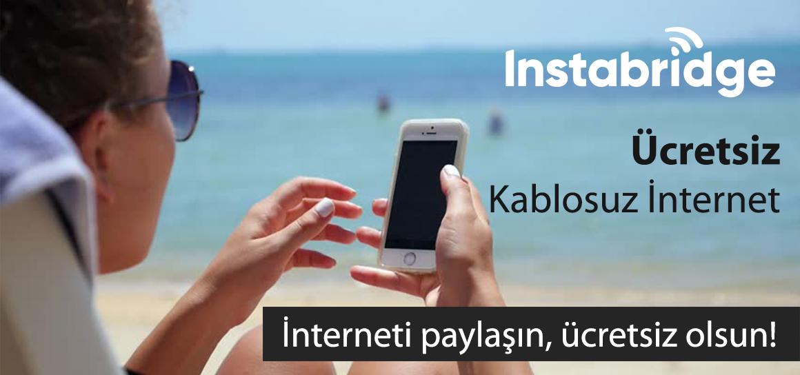 Android yada IOS Telefonlarınızdan Şifreli Kablosuz Ağlara Ücretsiz Bağlanın.