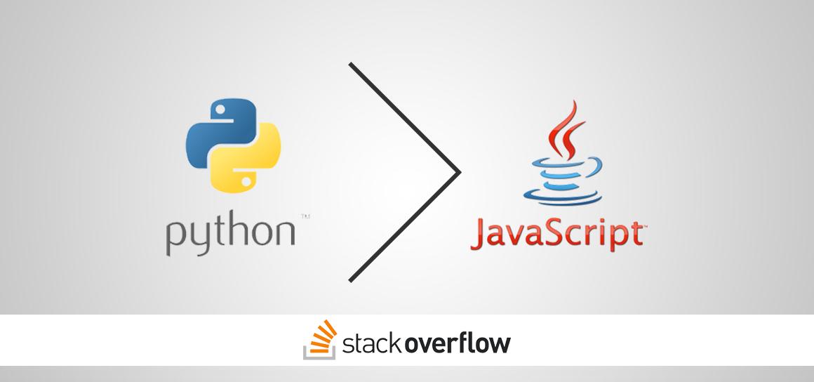 Python, Stack Overflow'da en çok sorgulanan dil olan JavaScript'i geçti!